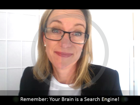 Why your brain is like a search engine