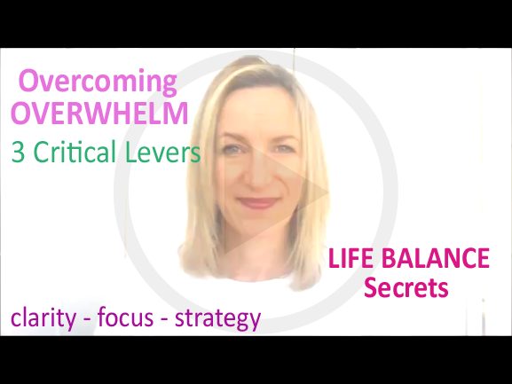 How to Overcome Overwhelm – The 3 Critical Levers