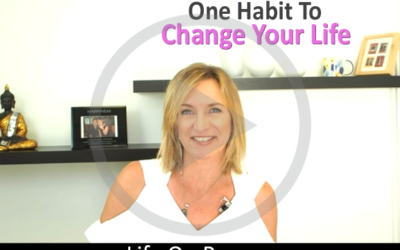 One Habit To Change Your Life