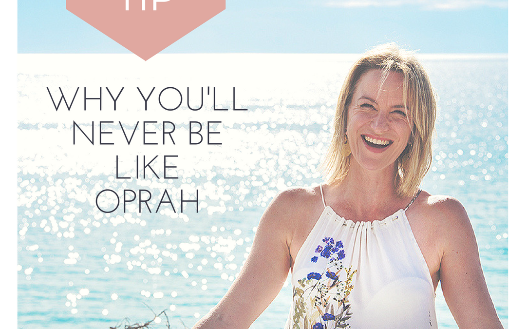 Why You'll Never Be Like Oprah