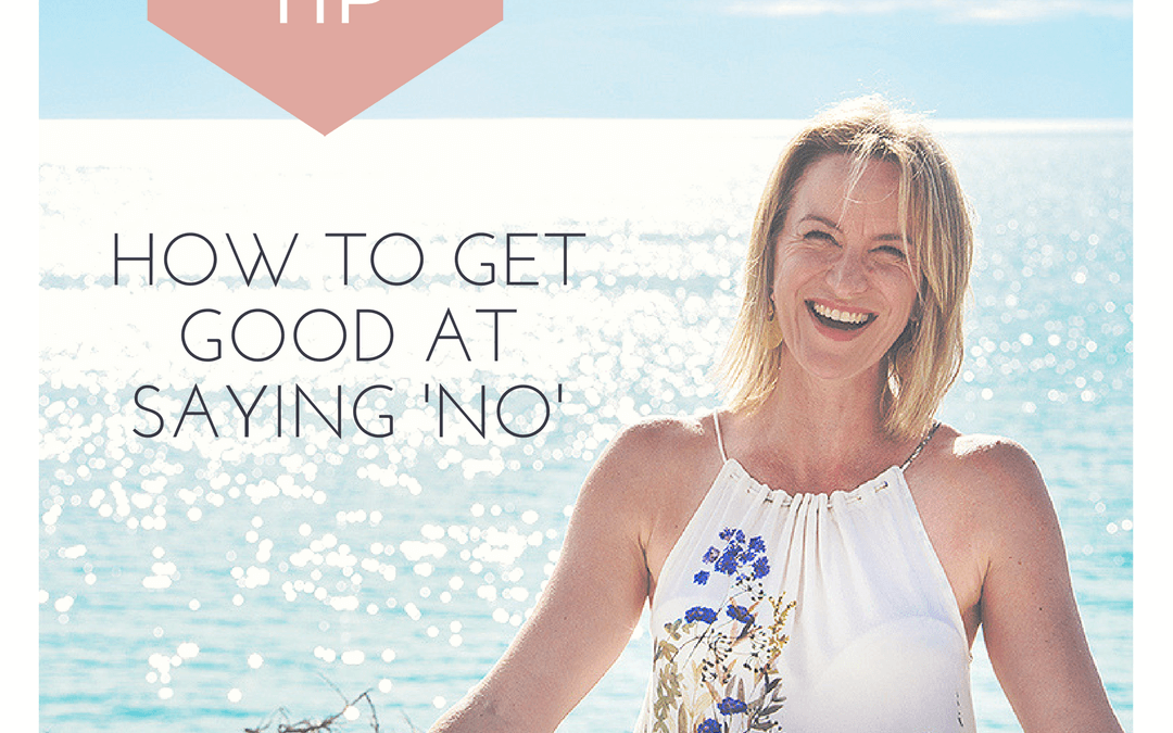 How to get good at saying no